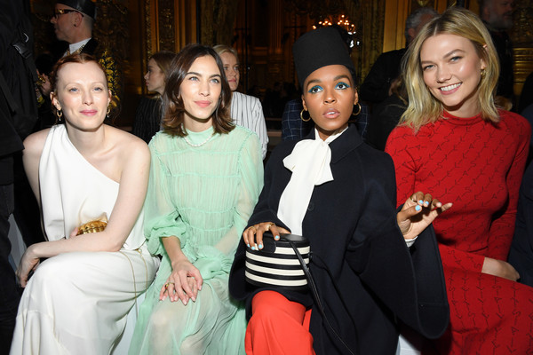 More Pics of Janelle Monae Fez (6 of 10) - Dress Hats Lookbook - StyleBistro [event,fashion,lady,formal wear,dress,fashion design,haute couture,suit,style,party,stella mccartney,alexa chung,karlie kloss,janelle monae,karen elson,front row,part,l-r,paris,paris fashion week womenswear fall]