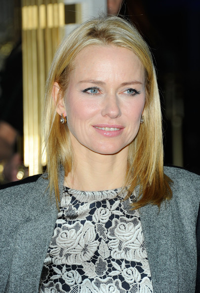 More Pics of Naomi Watts Medium Straight Cut (1 of 8) - Naomi Watts Lookbook - StyleBistro