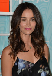 Abigail Spencer attended the Inspiration Awards looking very lovely with her long waves.