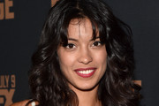 Stephanie Sigman Long Curls with Bangs
