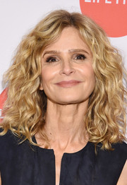 Kyra Sedgwick looked fab with her voluminous waves at the New York screening of 'Story of a Girl.'