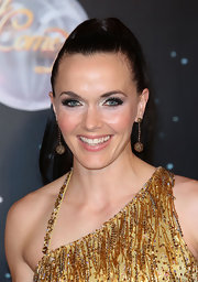 Victoria Pendleton topped off her 'Strictly Come Dancing' look with a high ponytail.