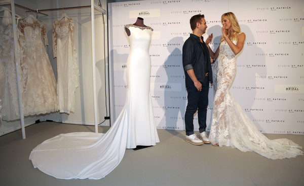 More Pics of Karolina Kurkova Wedding Dress (1 of 29) - Karolina Kurkova Lookbook - StyleBistro