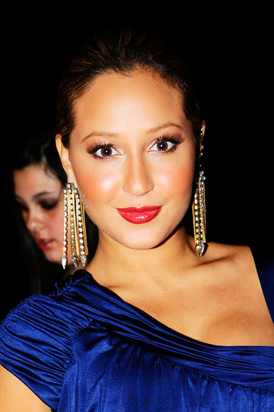 More Pics of Adrienne Bailon Gold Dangle Earrings (3 of 5) - Adrienne Bailon Lookbook - StyleBistro