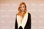 Suki Waterhouse Evening Coat