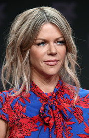 Kaitlin Olson looked stylish with her piecey waves at the Summer 2018 TCA Press Tour.