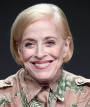 Holland Taylor went classic with this short side-parted bob at the 2018 Summer TCA Tour.