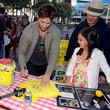 Bailee Madison and Peter Facinelli