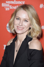 Naomi Watts looked lovely with her bob at the 2018 Sundance Film Festival premiere of 'Ophelia.'