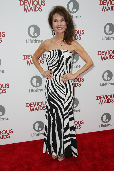 Susan Lucci Print Dress