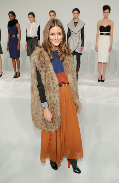 More Pics of Olivia Palermo Long Skirt (2 of 5) - Olivia Palermo Lookbook - StyleBistro