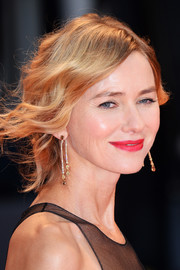 Naomi Watts sported a messy, loose updo at the Venice Film Festival screening of 'Suspiria.'