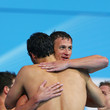 Ryan Lochte and Ricky Berens