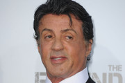 Sylvester Stallone Narrow Solid Tie