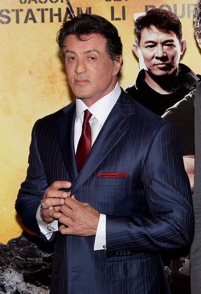 Sylvester Stallone Classic Solid Tie []