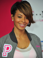 Vanessa Simmons rocked a highlighted inverted bob to the NBA All-Star Game.