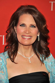 Michele wore her brown hair in loose waves for the Time 100 Gala.