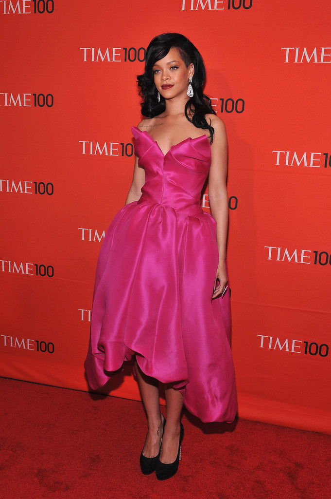 Rihanna in TIME 100 Gala, TIME'S 100 Most Influential People In The World - Red Carpet