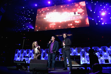 TJ Bridgit Mendler Z100's Jingle Ball 2012 Presented By Aeropostale - Backstage