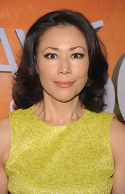 Ann Curry styled her hair in soft waves for the 60th anniversary of the 'Today' show.