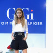 Gigi Hadid at the #TOMMYXGIGI Press Conference