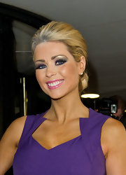 Nicola McLean attended the 2012 TRIC Awards wearing her hair in a classic bun.