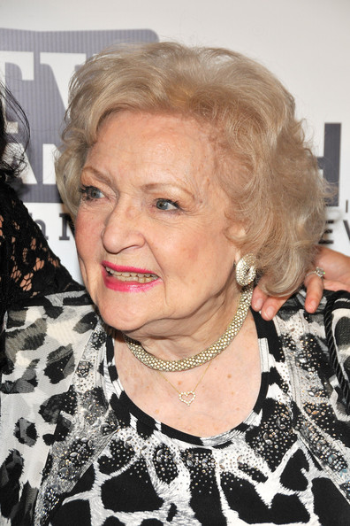 More Pics of Betty White Curled Out Bob (1 of 10) - Short Hairstyles Lookbook - StyleBistro []