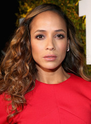 Dania Ramirez went ultra girly with these voluminous curls during Take-Two's E3 kickoff party.