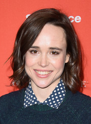 Ellen Page looked cute with her soft curls at the Sundance Film Festival premiere of 'Tallulah.'