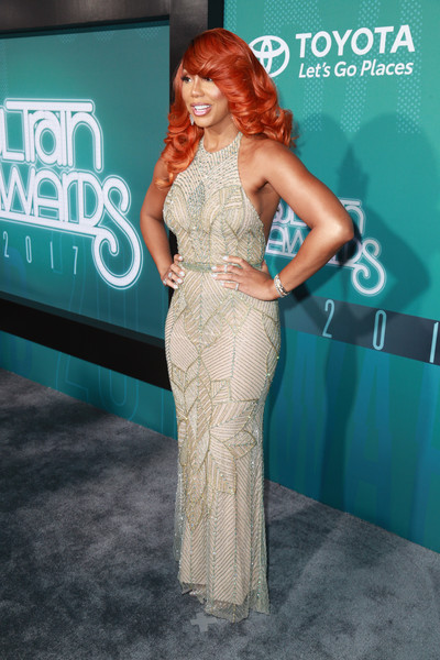 Tamar Braxton Halter Dress