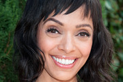Tamara Taylor Medium Wavy Cut with Bangs