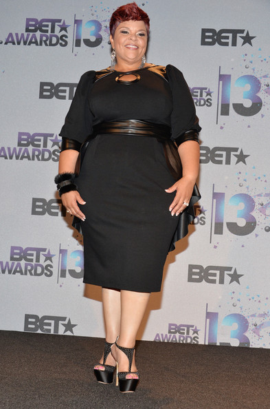 Tamela Mann Little Black Dress
