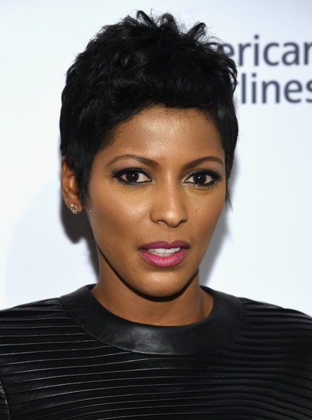 Tamron Hall Fauxhawk [billboard,hair,face,hairstyle,eyebrow,black hair,forehead,chin,lip,beauty,skin,new york city,cipriani 42nd street,10th annual women in music - inside arrivals,10th annual women in music,tamron hall]