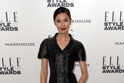 Tao Okamoto Little Black Dress
