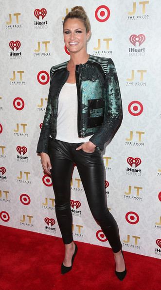 More Pics of Erin Andrews Motorcycle Jacket (1 of 5) - Motorcycle Jacket Lookbook - StyleBistro