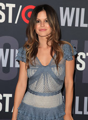 Rachel Bilson attended the Target and William Rast celebration showing off her center part curls.