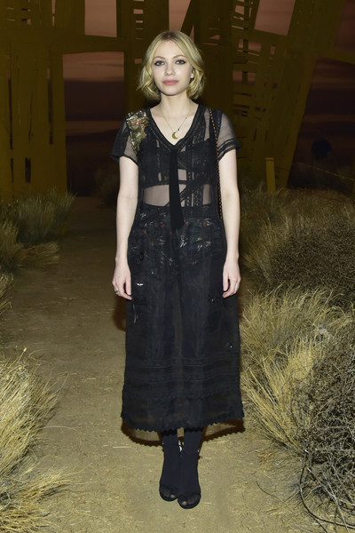 Tavi Gevinson Sheer Dress