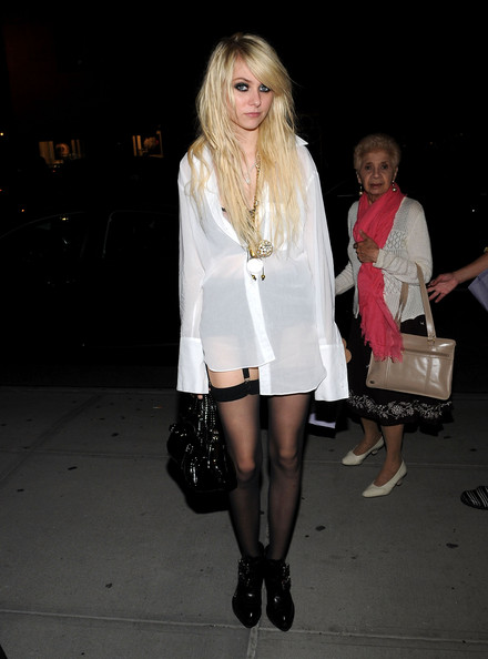 Taylor Momsen Patent Leather Purse