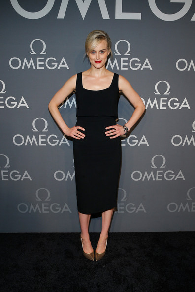 Taylor Schilling Little Black Dress