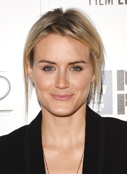 Taylor Schilling Messy Updo [listen up phillip,hair,face,eyebrow,hairstyle,blond,chin,forehead,skin,lip,cheek,taylor schilling,phillip,alice tully hall,new york city,new york film festival,premiere]