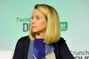 Marissa Mayer kept it classic with this mid-length bob during TechCrunch Disrupt SF 2014.