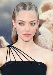 Amanda Seyfried wore her hair in rows of braids when she attended the New York premiere of 'Ted 2.'