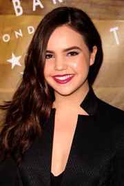 Bailee Madison glammed up her look with this wavy side sweep for the Ted Baker London SS'16 launch event.