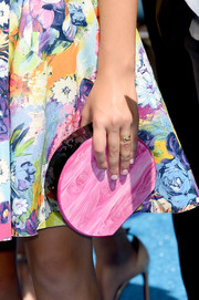 Maddie Ziegler wore several cute rings from Jennifer Meyer at the 2015 Teen Choice Awards.