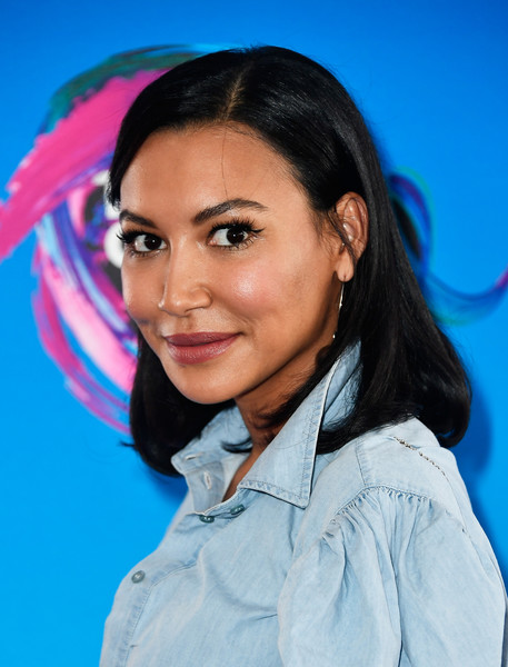Naya Rivera opted for a casual lob when she attended the 2017 Teen Choice Awards.