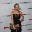 Carly Chaikin in Leopard Print and Lace