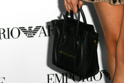 Madison Beer attended the Teen Vogue Young Hollywood party carrying a cute and stylish Celine Luggage tote.