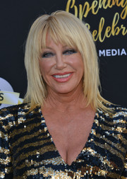 Suzanne Somers looked oh-so-cool with her shag at the Television Academy's 70th anniversary gala.
