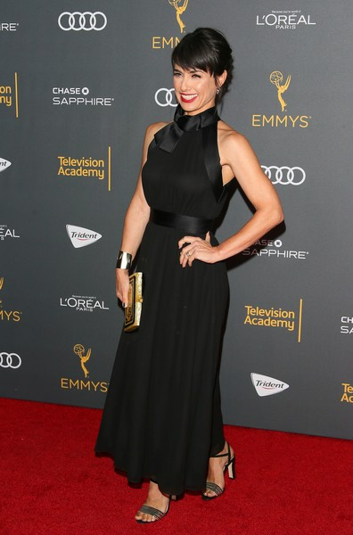 Constance Zimmer at The Television Academy's Reception