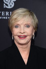 Florence Henderson wore her hair in a short cut with bangs at the Television Academy's Performers Peer Group celebration.